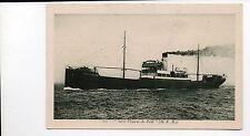 Steamship Saint Vincent De Paul (H.F.N.) Real Photo Postcard