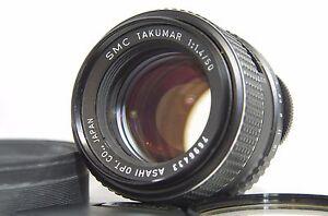 Pentax SMC Takumar 50mm F/1.4 MF Standard Prime Lens SN7696433 for M42 Mount