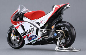 Diecast-1-18-Maisto-DUCATI-04-Andrea-Motorcycle-GP-Racing-Motorbike-Collect-toy
