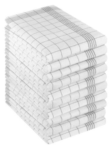 Betz Geschirrtücher Halbleinen Karo MCT-11 Gläsertücher Küchentücher Gr 50x70cm