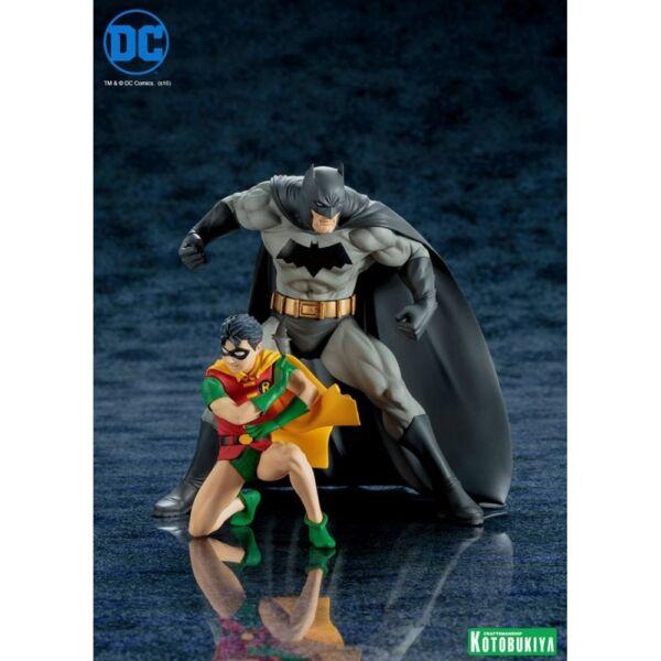 KOTOBUKIYA SV222 ARTFX DC Comics Rebirth Super Sons Robin /& Bat-hound 1//10 Scal for sale online