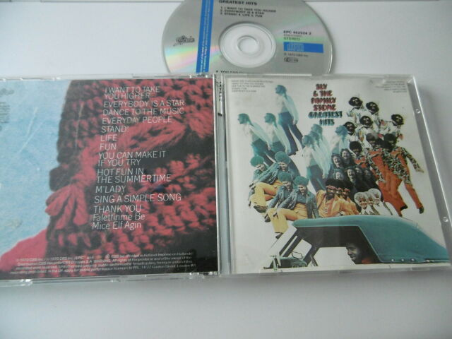 Sly & The Family Stone Greatest Hits CD Stand! Life Amusant THANK YOU M' Lady