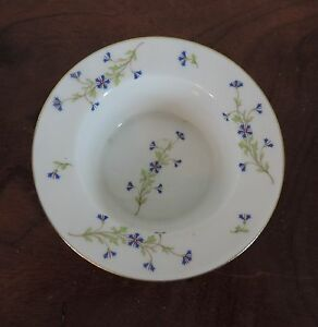 Image is loading Antique-M-Redon-Limoges-Paris-Porcelain-Ramekin-Bowl- & Antique M. Redon Limoges Paris Porcelain Ramekin Bowl Sprig ...