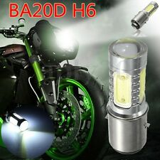 12V BA20D H16 4 COB LED White Bulb Light Headlight Fit Motorcycle Bike Moped ATV