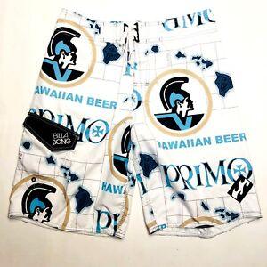 c22b4e08f7 Image is loading Primo-Beer-Billabong-Board-Surf-Swim-Shorts-Trunks-