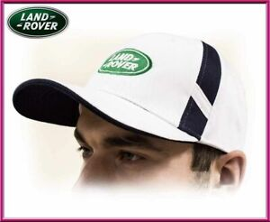 land rover unisex baseball cap cotton white color adjustable size ebay. Black Bedroom Furniture Sets. Home Design Ideas