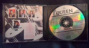 QUEEN-THE-WORKS-CD-RARE-STAMPE-ITALY-emi-MONDADORI