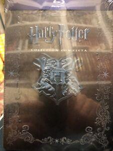Harry Potter Saga Completa Bluray Caja Edicion Metalica. Peecintada