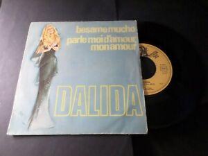 DALIDA-VINYLE-45-TOURS-BESAME-MUCHO-VINYL-VINTAGE