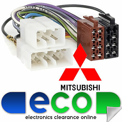 CT20MT01 MITSUBISHI L200 UP TO 1995 OEM SPECIFIC ISO HARNESS ADAPTER LEAD