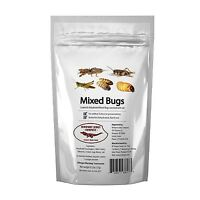 Edible Insects Bag Of Mixed Edible Bugs. Grasshoppers Crick... Free Shipping
