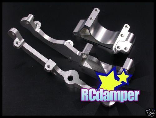 ALUMINUM ENGINE MOUNT SIDE SUPPORT SLAYER 1//10 TRAXXAS REVO 2.5 3.3