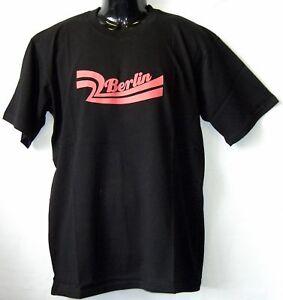 T-Shirt-BERLIN-WELLE-Schwarz-S-XXL