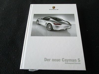 2008 Porsche Cayman and S 130-page Original Deluxe Car Sales Brochure Book