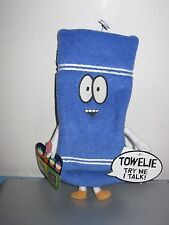 RARE SOUTH PARK TALKING TOWELIE PLUSH TOY DOLL FIGURE BY FUN FOR ALL NWT