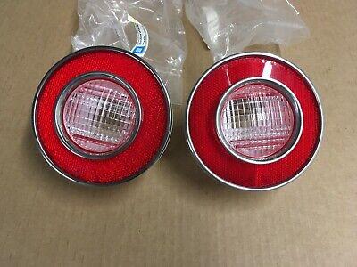 Each 74 Corvette Back Up Light Lens Assembly
