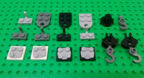 *NEW* Lego Car Trailer Towball Crane Hook Turntable Swivel Winch Bricks Pack