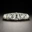 Vintage-Yellow-Gold-Plated-White-Topaz-Band-Wedding-Engagement-Ring-Wholesale thumbnail 2