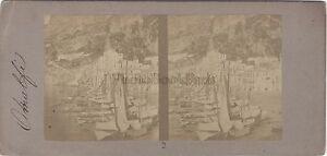 Amalfi-Italia-Foto-Stereo-Vintage-Albume-D-039-Uovo