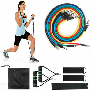 11-PCS-Resistance-Band-Set-Yoga-Pilates-Abs-Exercise-Workout-Bands-Fitness-Tube
