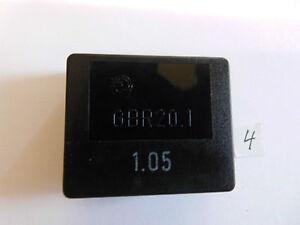 Relais-GBR20-1-1-05-5-V-4-5-7V-30-Ohm-10-A-250-V-AC-2x-um-liegend-Relay