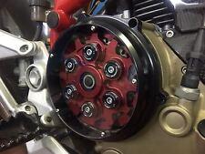 DUCATI Kupplungsdeckel Kupplung Deckel clutch cover Plexyglas NEU