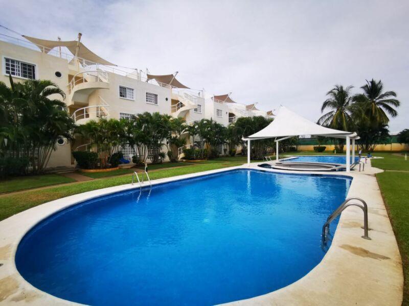 Departamento en venta Acapulco Diamante  2 Recamaras con Roof Garden $1,300,000