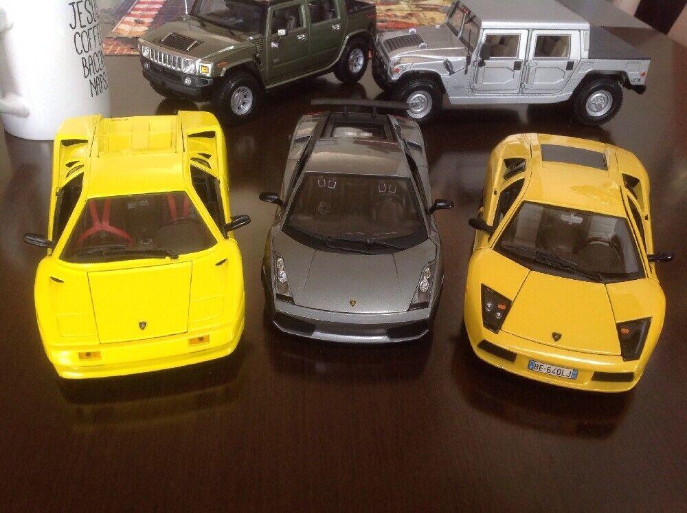 1 18 Diecast Lamborghini Set Lote Colección