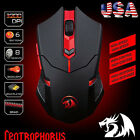 Redragon M601 Mouse CENTROPHORUS 3200 DPI 6 Buttons USB Wired Gaming Mice For PC