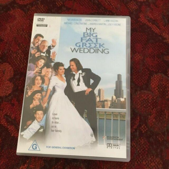 MY BIG FAT GREEK WEDDING DVD.