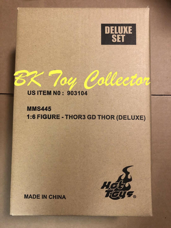 Hot Toys 1/6 Thor Ragnarok Gladiator Thor DELUXE Figure MMS 445 Marvel Endgame on eBay thumbnail