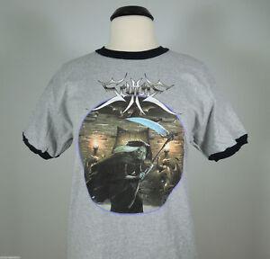 SCYTHE-Beware-The-Scythe-Gray-Ringer-Band-Shirt-2XL-R-I-P-Records-NEW-Usurper
