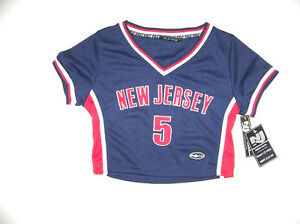 New-Jersey-5-Kids-Girls-Basketball-Jersey-Top-Size-Medium