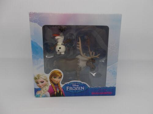 Bullyland Disney Frozen Die Eiskönigin Figuren == Anna Olaf  Kristoff Sven NEU