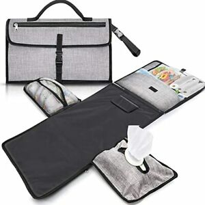 Gimars-XL-6-Pockets-Holding-Anything-Portable-Baby-Diaper-Changing-Pad