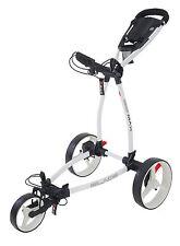 Big Max Blade + - 3 - Rad Golftrolley, ultraflach und leicht - white, Modell2017