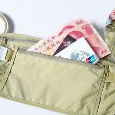 Holder Travel Pouch BECS Pocket Compact SPT Waist Belt Security Money Hidden Bag