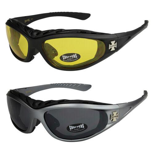 2er Pack Choppers 911 Locs Unisex Brille Sonnenbrille Männer Frauen schwarz grau