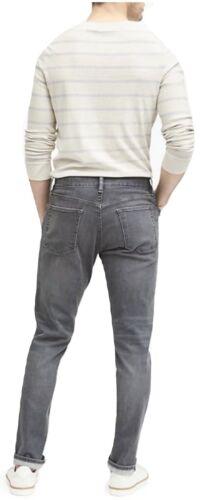 Banana Republic Tapered Rapid Movement Denim Canyon Grey Jeans 35x30 266635 NWT