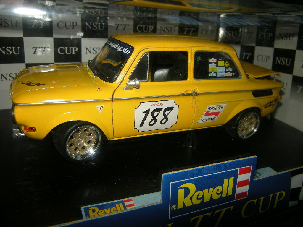 1 18 Revell NSU TT racing R. Rötzer nº 08456 en OVP