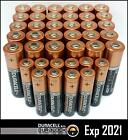 Duracell 30 AA + 10 AAA Batteries Copper Top Alkaline Long Lasting 2021/25 Bulk