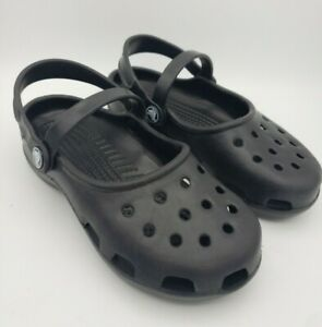 Girls Mary Jane Crocs Original Size 4