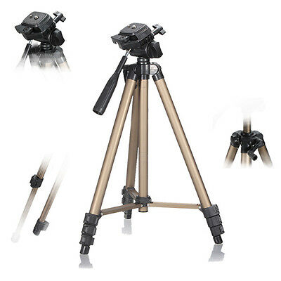 """WT3150 50""""  Aluminum Tripod Stand with Carrying Bag For DSLR Camcorder Camera"""