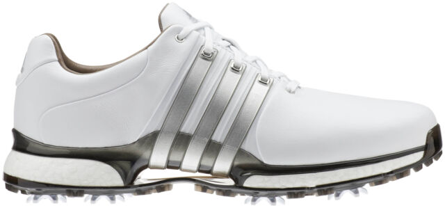 Adidas Men S Tour 360 Boost 2 0 Golf Shoes Us 10 M White Blue Red Silver 19500 For Sale Online Ebay