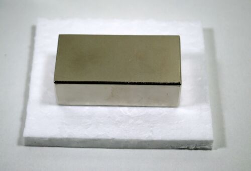 N42 NiCuNi Supermagnet Neodym Magnet NdFeb 60 x 30 x 20 mm