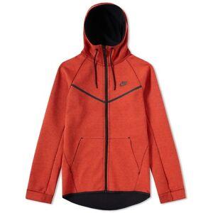 523c8214e0ad Nike Tech Fleece Windrunner Hoodie 805144-852 Max Orange Heather ...