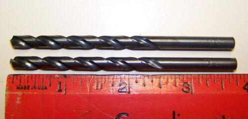"""1 Dozen 13//64/"""" 13//64 inch .2031/"""" HSS Fractional Drill Bit by Chicago-Latrobe USA"""