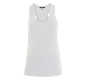 Whistles - Slub Racer Back Vest - T-Shirt - Weiß- New with tag - Größe S 10 12