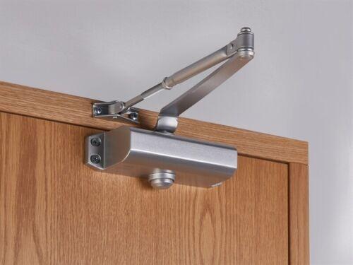 UNION CE3F Fixed Size 3 Rack /& Pinion Door Closer Silver UNNJCE3F