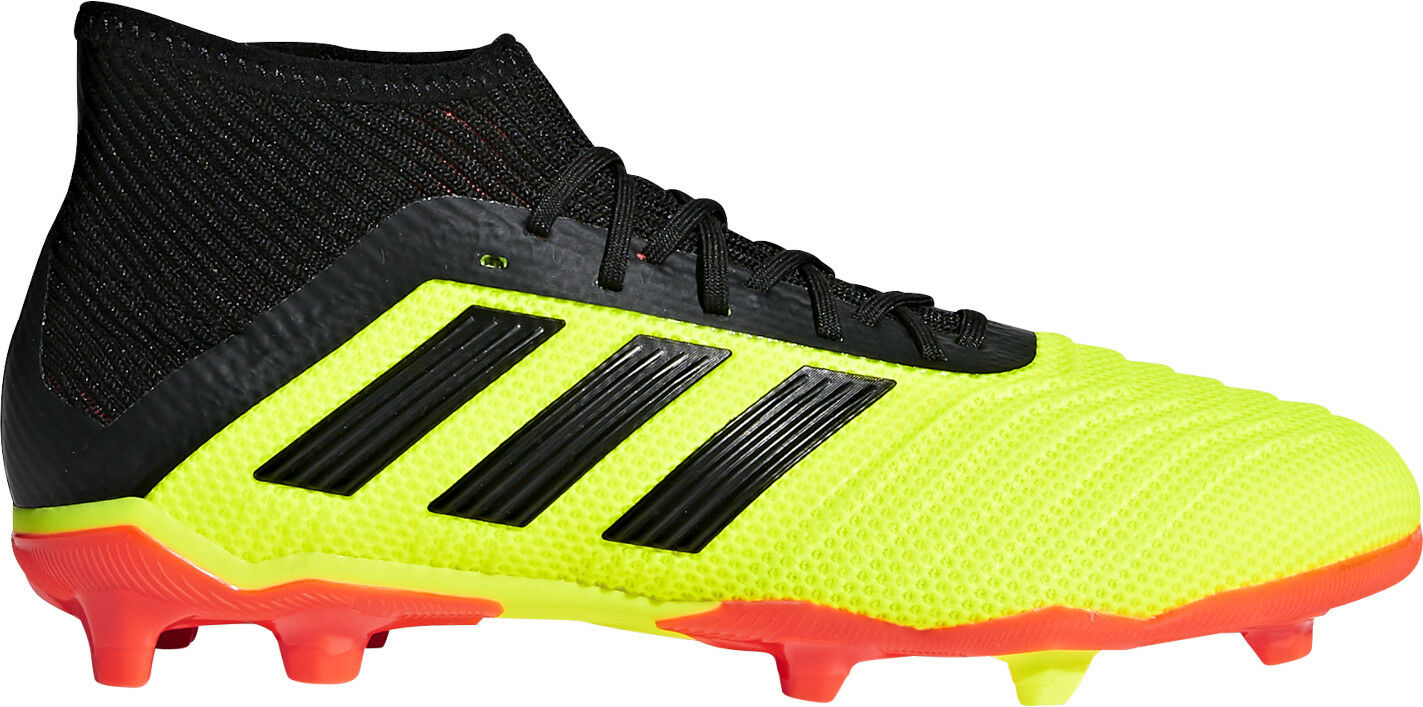 Adidas Predator 18.1 Firm Ground Junior Football Boots - Yellow